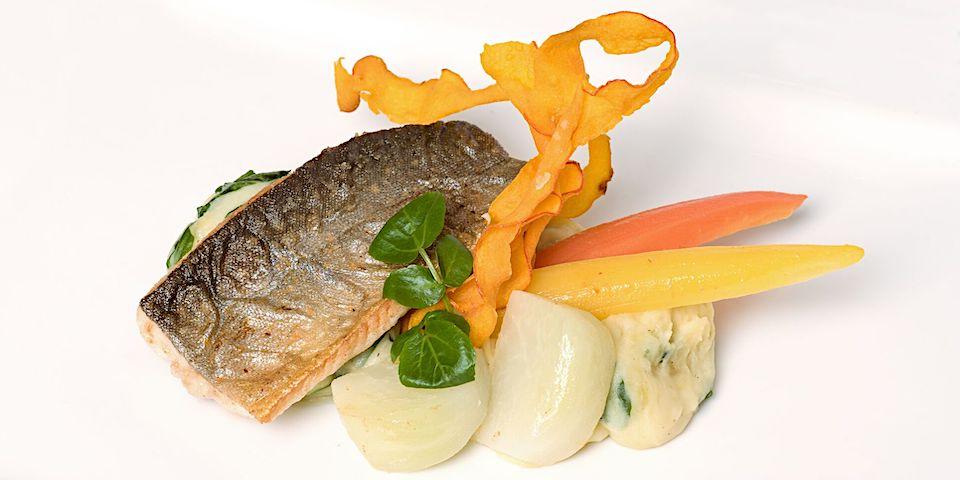 heimischer Fisch bei Gastwirtschaft Holzinger